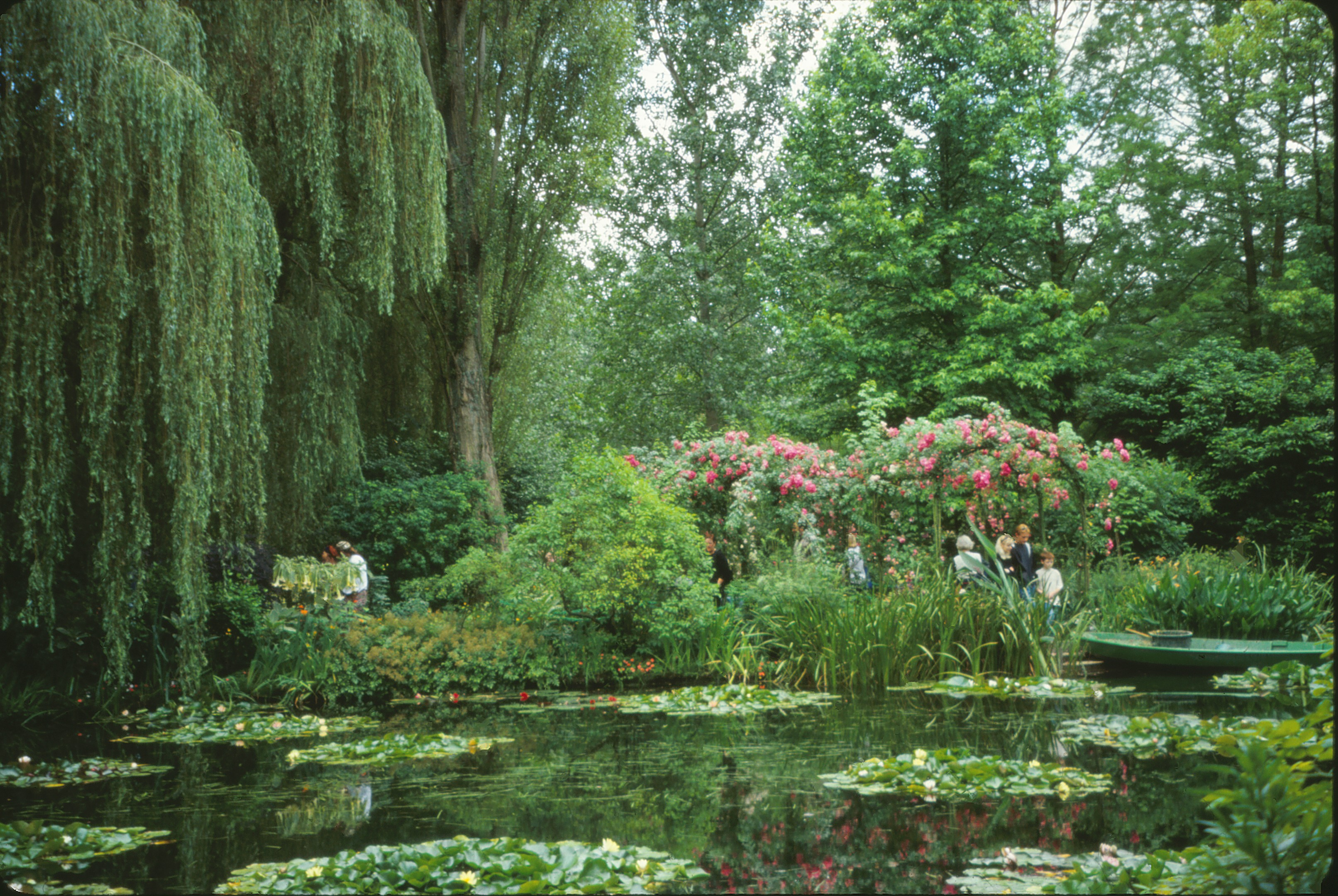 Psst wanna buy a poster barry zwick for Monet s garden france